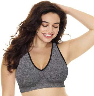 Just My Size Plus Size Bras 2-pack Pure Comfort Racerback Bra MJ128P