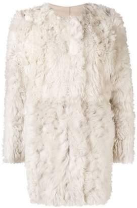 Tory Burch shearling jacket