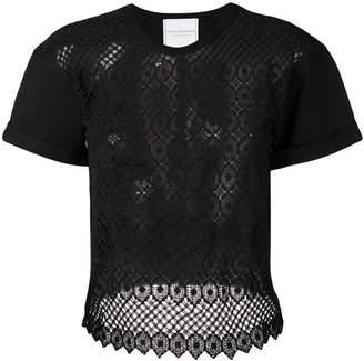 Philosophy di Lorenzo Serafini embroidered blouse