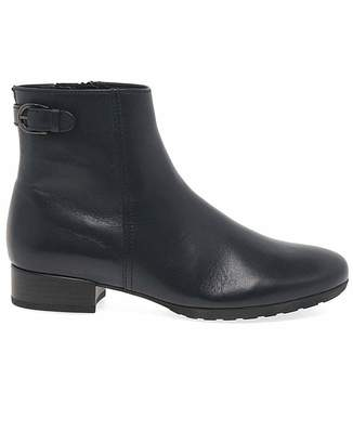 Gabor Partner Extra Wide Fit Ankle Boots