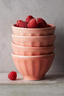 Anthropologie Mini Latte Bowls, Set of 4