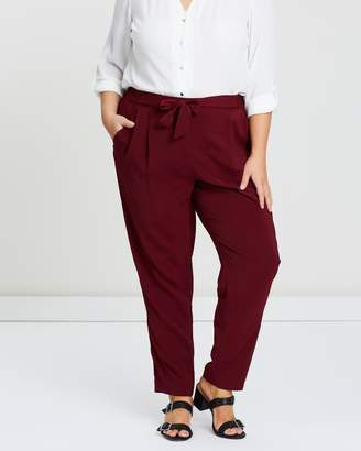 Evans Satin Tapered Pants