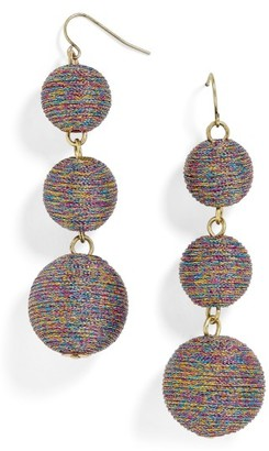 Women's Baublebar Shimmer Crispin Drop Earrings $48 thestylecure.com