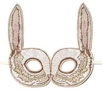 Coral & Tusk Bunny Embroidered Mask