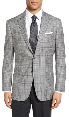 Men's Hart Schaffner Marx Classic Fit Plaid Wool Sport Coat $695 thestylecure.com