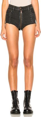 VETEMENTS x Levis Denim Hot Pants $1,090 thestylecure.com