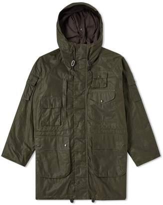 Barbour x Engineered Garments Zip Parka