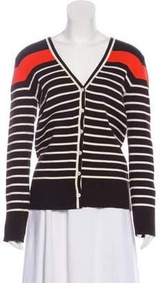 Lauren Ralph Lauren Striped Knit Cardigan