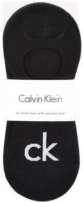 Calvin Klein Non-Slip No Show Liner Socks