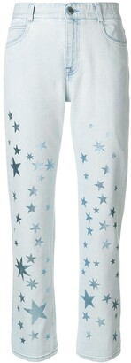 Stella McCartney star printed jeans