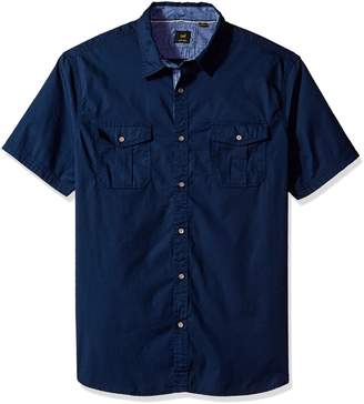 Lee Men's Stretch Short Sleeve Shirt