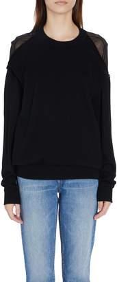 Alexander Wang Crewneck Pullaway Sweater