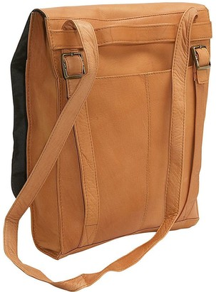 Le Donne Leather Convertible Shoulder Bag/Backpack