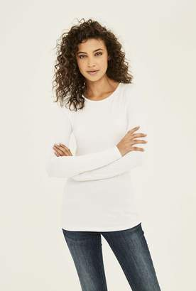 Long Tall Sally The Long Sleeve Cotton Crew Neck Tee