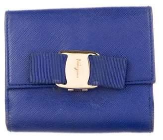 Salvatore Ferragamo Compact Leather Wallet