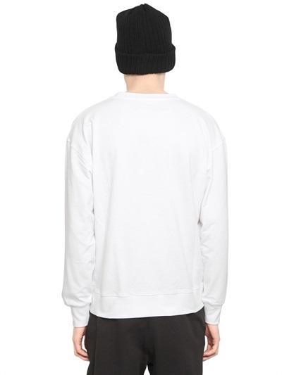Boy London Boy Eagle Print Fleece Sweatshirt