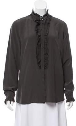 Zadig & Voltaire Silk Button-Up Top