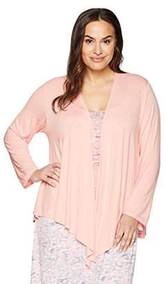 Arabella Women's Plus Size Open Cardigan