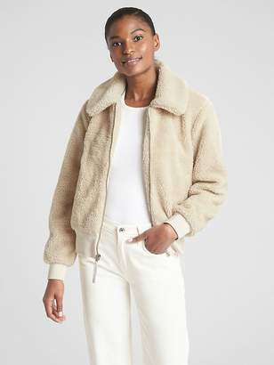 Gap Teddy Bomber Jacket