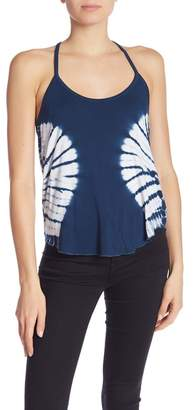 Chaser Ruffle T-Back Shirttail Cami
