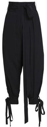 J.W.Anderson Bow-Detailed Faille Harem Pants