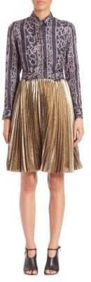 3.1 Phillip Lim Printed Silk Blend Dress