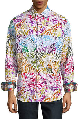 Robert Graham Zelandia Printed Long-Sleeve Shirt