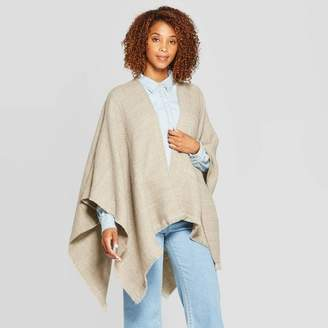 Universal Thread Women's Woven Essential Ruana - Universal ThreadTM