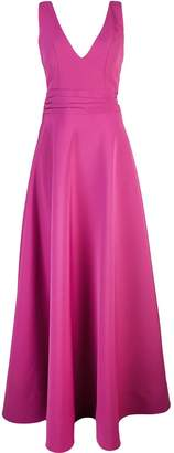 Nha Khanh V-neck gown