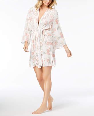 Linea Donatella Day Dream Floral-Print Wrap Robe