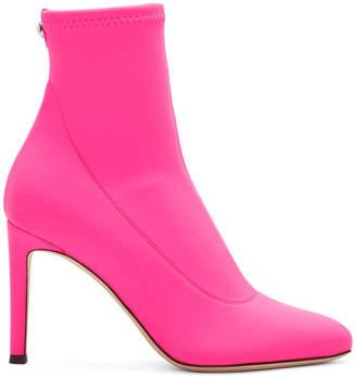 Giuseppe Zanotti Pink Neon Bimba Boots