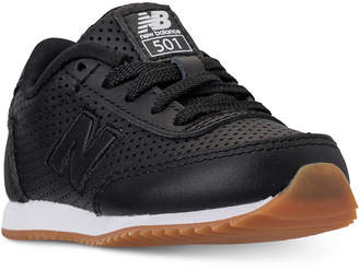 New Balance Toddler Boys' 501 Leather Casual Sneakers from Finish Line