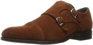 Stacy Adams Men's Slocomb-Cap Toe Double Monk Strap Slip-on Loafer
