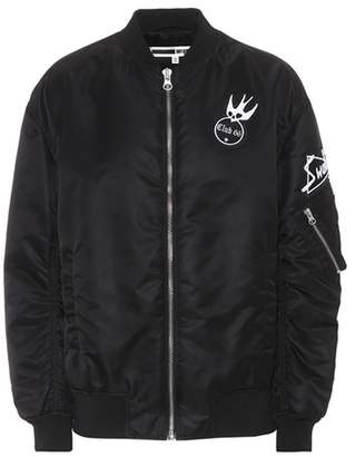 McQ Embroidered bomber jacket