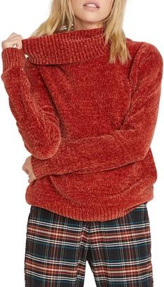 Volcom Cozy on Over Chenille Turtleneck Sweater