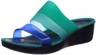 Crocs Women's Colorblock W Wedge Sandal