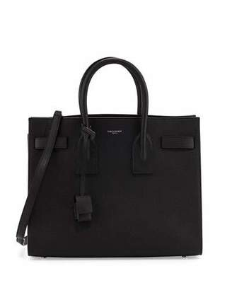 Saint Laurent Sac de Jour Small Satchel Bag, Black (Noir) $2,890 thestylecure.com