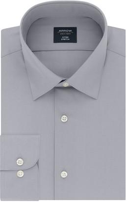 Arrow Men's Fitted Stretch Dress Shirt
