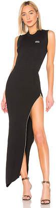 GCDS Long Asymmetrical Zip Dress