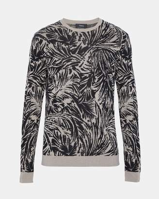 Theory Palm Jacquard Sweater