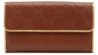 Longchamp LM Cuir Leather Clutch Wallet