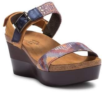 Naot Footwear Alpha Platform Wedge Sandal Sandal (Women)