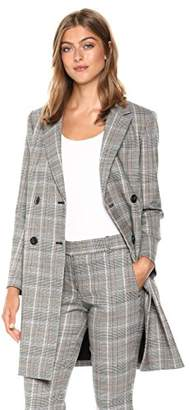 Theory Women's Double Breasted Square Coat