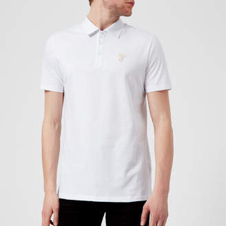 Versace Men's Small Logo Polo Shirt
