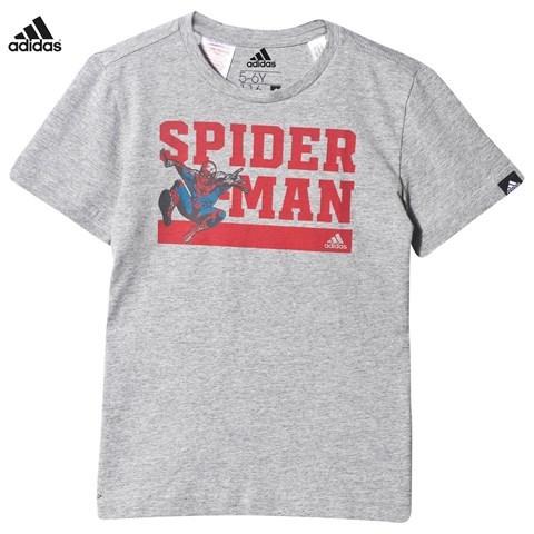 adidas Grey Spiderman Tee