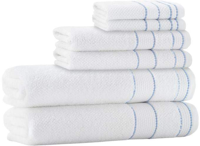 Turko Textile LLC Enchante Home Monroe 6-piece Turkish Cotton Bath Towel Set