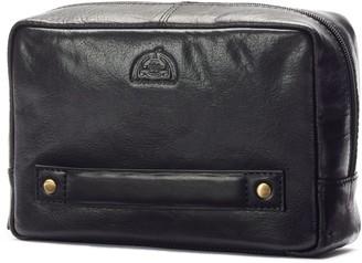 Dopp Carson Leather Carry-On Kit