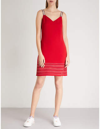 Ted Baker Stripe-detail A-line dress
