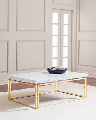 John-Richard Collection Calabria Marble-Top Coffee Table