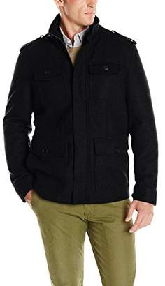 Dockers Wool Four-Pocket Military Jacket